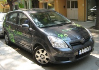 Car branding , advertising sticker за Euro Group