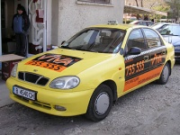 Car branding , advertising stickers за Viva Taxi