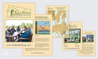 Press advertisment, broshures, Design and prepress on brochure