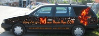 Car branding , advertising sticker за Metal Design Group