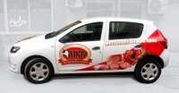 Car branding , Branding of company car за MKV